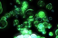 abstrakt bollar Arkivfoto