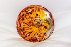 abstrakt bollexponeringsglas för bakgrund 3d Arkivbild