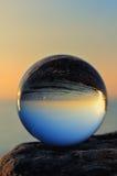 abstrakt bollexponeringsglas för bakgrund 3d Royaltyfria Foton