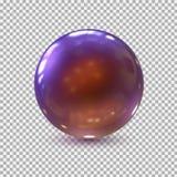 abstrakt bollexponeringsglas för bakgrund 3d glass sphere _ också vektor för coreldrawillustration stock illustrationer