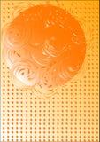 abstrakt bollswirl stock illustrationer