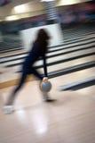 abstrakt bowling Arkivbild
