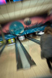Abstrakt bowling Royaltyfri Fotografi