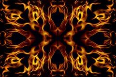 abstrakt brandram Arkivbild