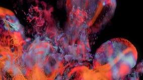 abstrakt bristning för partikel 4K royaltyfri illustrationer