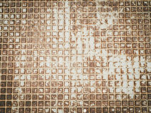 Abstrakt brun beige lantlig bakgrundstextur Royaltyfria Bilder