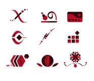 abstrakt brun designpink vektor illustrationer