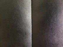 Abstrakt brun lädertexturbakgrund Arkivbild