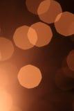 abstrakt brun lampa Arkivbild