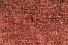 Abstrakt brun textiltextur Royaltyfria Bilder