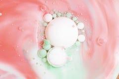 abstrakt bubblor Arkivfoton