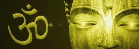 abstrakt buddha arkivfoton