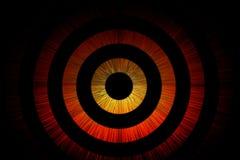 Abstrakt bullseyebakgrund stock illustrationer