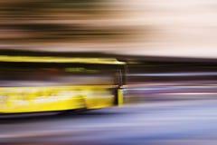 abstrakt busshastighet royaltyfri bild