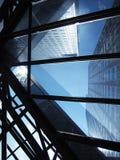 abstrakt byggnad Arkivbild