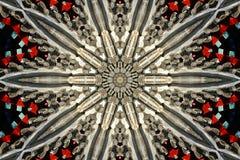 abstrakt byggnad Arkivfoton