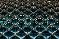 Abstrakt byggnadsarkitekturdesign royaltyfria bilder