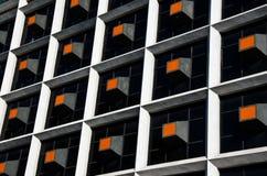 Abstrakt byggnadsdesign Arkivfoton