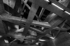 Abstrakt byggnadsinre Arkivfoton