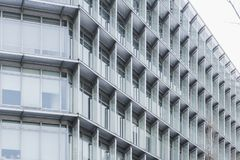 abstrakt byggnadssikt arkivfoto