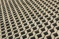 abstrakt cementtrottoar Arkivfoto