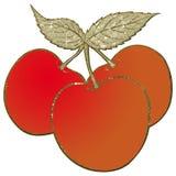 abstrakt Cherry Arkivfoton