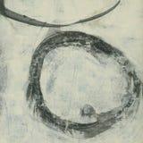 Abstrakt cirkel stock illustrationer