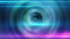 Abstrakt cirkelbakgrund med den lysande virvlande runt bakgrunden glödande spiral Arkivbilder