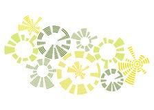 abstrakt cirkeldesign Royaltyfria Bilder