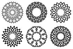 Abstrakt cirkelsymbol Royaltyfri Fotografi