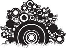 abstrakt cirklar Arkivfoto
