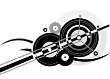 abstrakt cirklar Arkivbilder