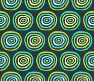 abstrakt cirklar Arkivbild