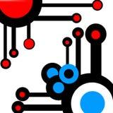 abstrakt cirklar Arkivfoton