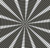 Abstrakt cirkulär försilvrad bakgrund och design Arkivfoton