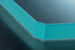 Abstrakt closeupstycke av exponeringsglas Royaltyfri Fotografi