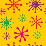 Abstrakt colorfullvektorbakgrund, sömlös modell vektor illustrationer