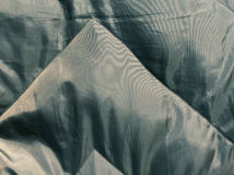 Abstrakt cyan torkduketextur Royaltyfria Bilder