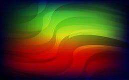 Abstrakt czerwieni zieleni błękita lekki tło Obraz Royalty Free