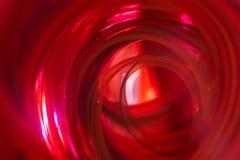 Abstrakt - Czerwony tunel Obrazy Royalty Free
