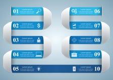 Abstrakt 3D cyfrowy ilustracyjny Infographic Obraz Stock
