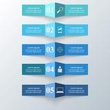Abstrakt 3D cyfrowy ilustracyjny Infographic Zdjęcia Royalty Free
