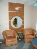Abstrakt 3d framförde inomhus utrymme Royaltyfria Foton