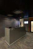 Abstrakt 3d framförde inomhus utrymme Fotografering för Bildbyråer