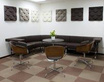 Abstrakt 3d framförde inomhus utrymme Royaltyfri Bild
