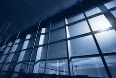 Abstrakt 3d framförde inomhus utrymme Arkivbild