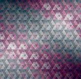 Abstrakt 3d geometricbroken szklanych linii grunge wektoru nowożytnego tło Obraz Royalty Free