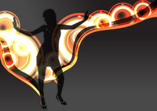 abstrakt dansare Royaltyfri Foto