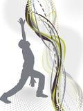 abstrakt dansillustrationman Royaltyfria Foton