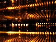 Abstrakt datacenter - digitalt frambragd bild Arkivbilder
